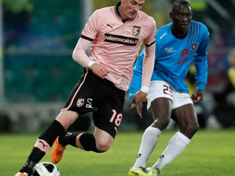 Norwich City close in on Palermo striker Kyle Lafferty
