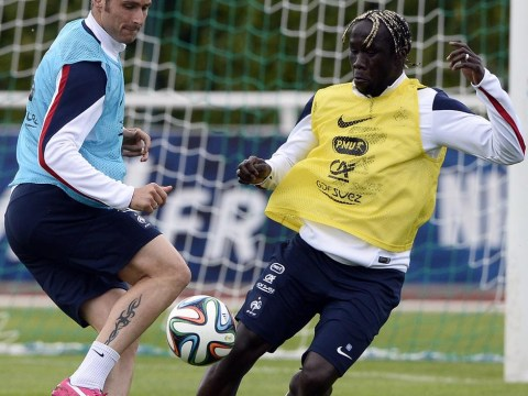 Bacary Sagna shows Arsenal what they'll be missing with wonder-goal in France training