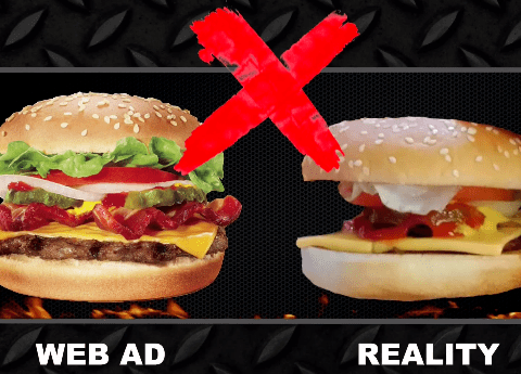 Fast Food: How do the adverts compare to reality?