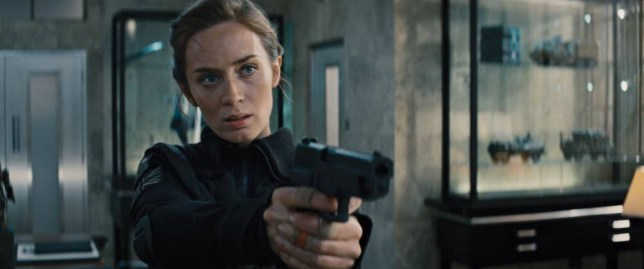 """This image released by Warner Bros. Pictures shows Emily Blunt in a scene from """"Edge of Tomorrow."""" (AP Photo/Warner Bros. Pictures)"""