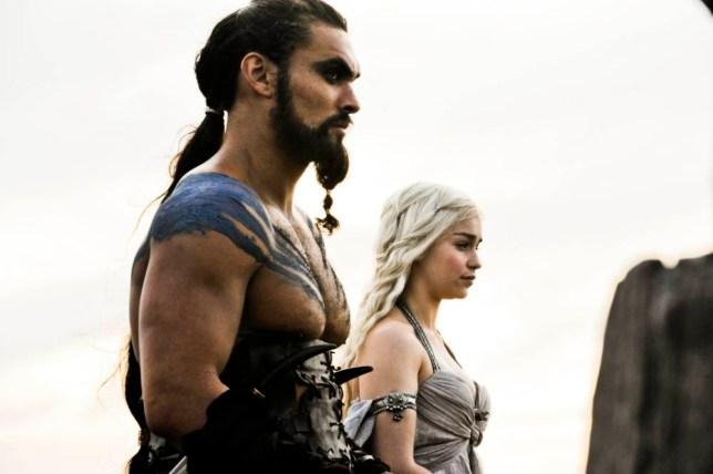 Daenerys Targaryen and Khal Drogo, Game Of Thrones