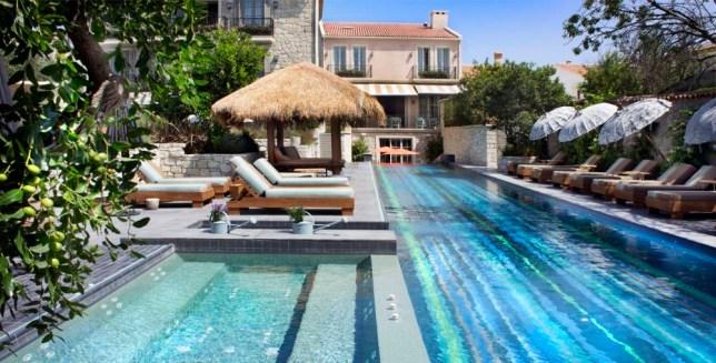 The luxury Alavya resort, Turkey