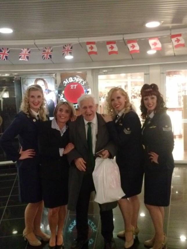 D-Day Vet Bernard Jordan vows return for next year's commemorations