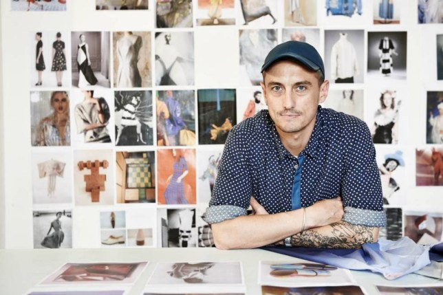 Australian-born designer Richard Nicoll prepares to show his spring 2015 menswear collection this Sunday (Picture: file)