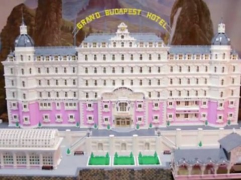 Someone has made a Lego model of The Grand Budapest Hotel and it is utterly perfect