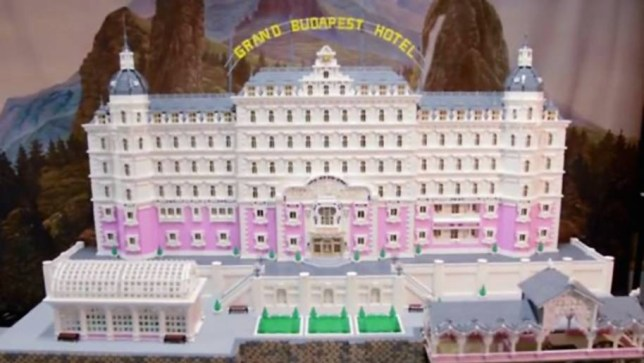 The Grand Budapest Hotel in Lego