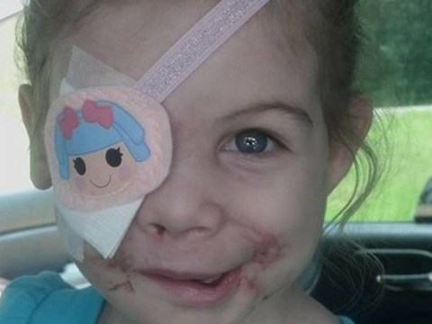 KFC gives £18,000 to dog attack victim, aged three, as apology for asking her to leave restaurant