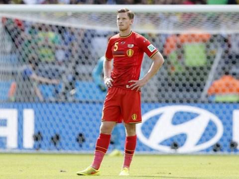 World Cup 2014: Belgium go behind against Algeria, Tottenham's Jan Vertonghen takes all the stick
