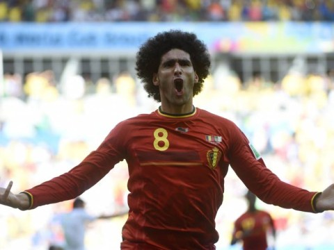 World Cup 2014: He's back! Marouane Fellaini's head comes to Belgium's rescue as substitute helps down Algeria
