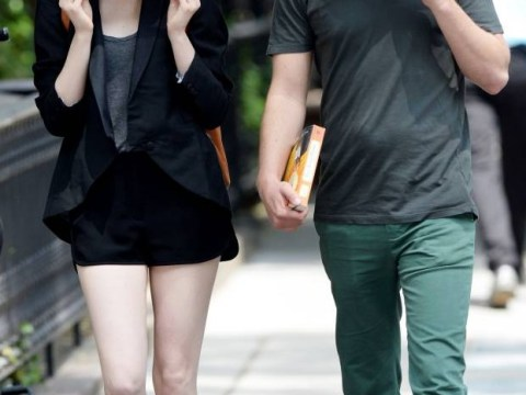 Andrew Garfield and Emma Stone once again found an inspired way to see off the paparazzi