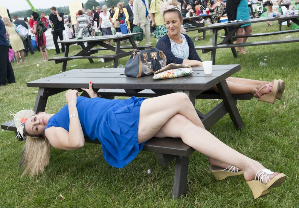 Welcome to Chavscot, as Ascot's Ladies' Day takes a nosedive in the chic stakes