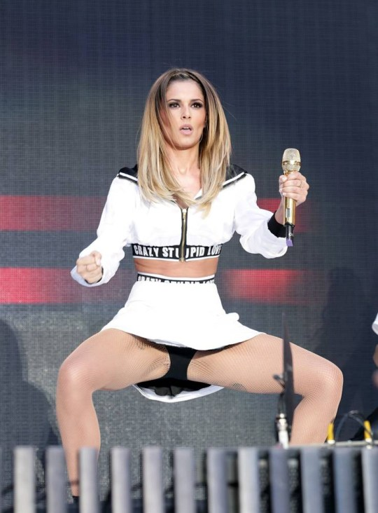 76492a3eeec2 Cheryl Cole performs during Capital FM s Summertime Ball at Wembley  Stadium