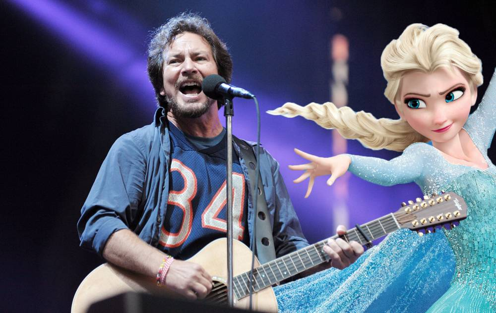 Rockers Pearl Jam cover Let It Go from Disney's Frozen