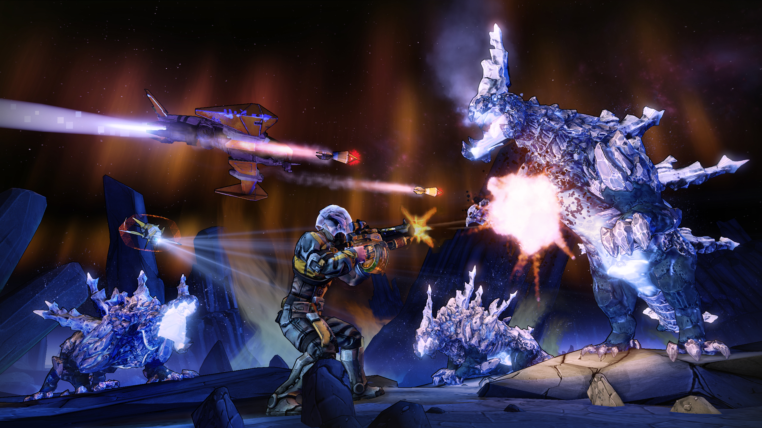 New Borderlands: The Pre-Sequel trailer reveals release date and… moon dance