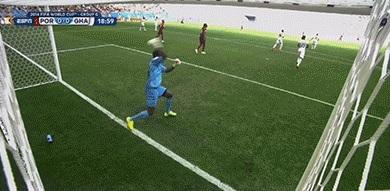 Ghana goalkeeper Fatawu Dauda pulls off unreal save to deny Cristiano Ronaldo, celebrates wildly
