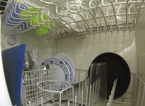 Ever wanted to know what actually happens in your dishwasher? This GoPro video shows you