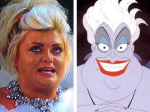 Anyone else think TOWIE's Gemma Collins and Disney villain Ursula were separated at birth?