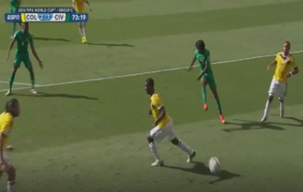 Where did this come from? Gervinho scores fantastic solo goal against Colombia, Arsenal fans baffled