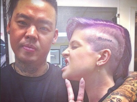 Kelly Osbourne just got her head inked, would you?