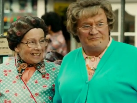 'Low-fat apples' anyone? Watch Agnes' fruit-flogging techniques in this Mrs Brown's Boys D'Movie clip