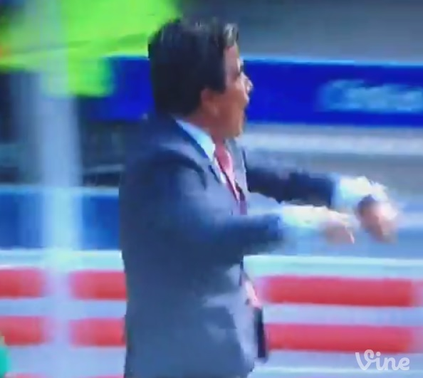 Costa Rica coach Jorge Luis Pinto REALLY thought Joel Campbell should have been awarded penalty against Italy