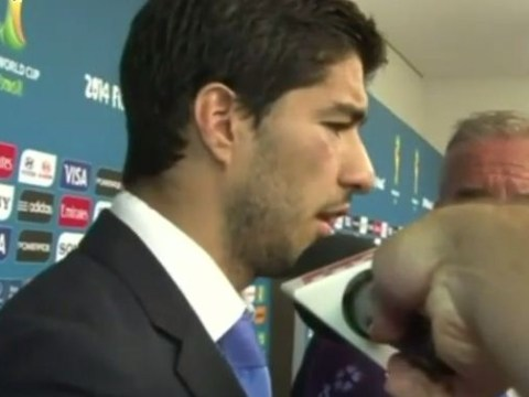 Luis Suarez speaks out after biting Giorgio Chiellini – you won't believe what he says