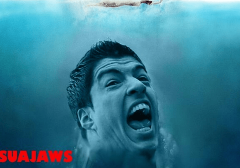 Luis Suarez bites Giorgio Chiellini, Twitter responds with epic memes