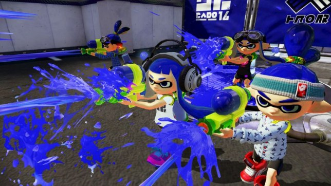 Splatoon - a great looking game on a failed console