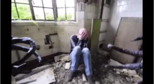 Watch: Urban explorers terrified by Owlman prank in