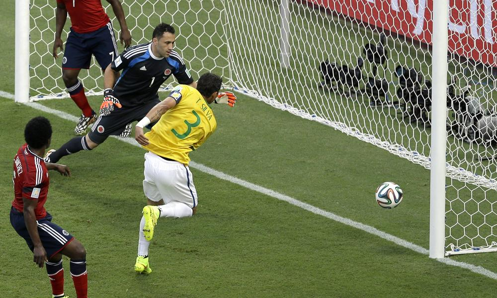 Thiago Silva shows who's the boss to help Brazil see off Colombia