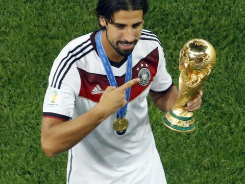 Sami Khedira 'is NOT in talks to move to Arsenal or Chelsea'