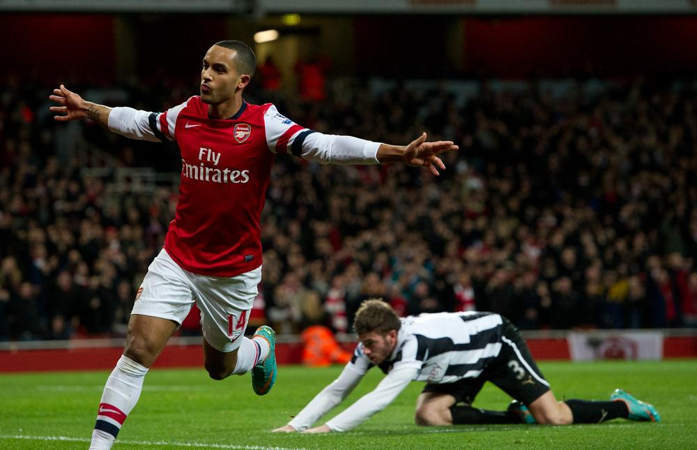 Is Arsene Wenger finally ready to give Theo Walcott a chance up top for Arsenal?