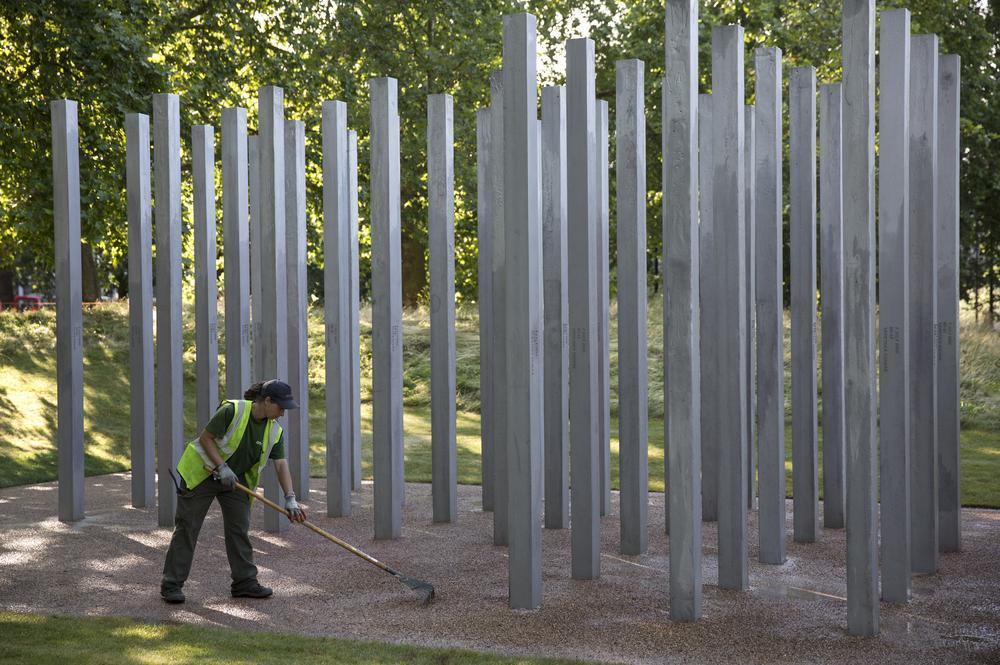 7/7 bombings memorial vandalised on anniversary