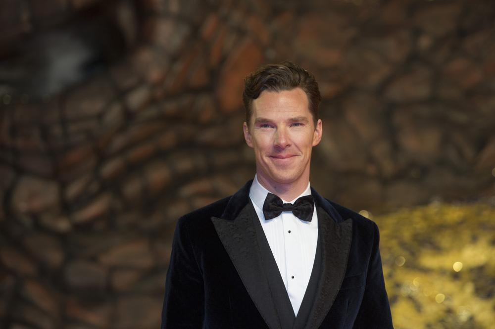 """FILE - In this Dec. 9, 2013 file photo, British actor Benedict Cumberbatch arrives for the European Premiere of the movie """"The Hobbit: The Desolation of Smaug"""" in Berlin. The Toronto Film Festival unveiled a star-heavy lineup amid increased festival jockeying for the most plum premieres of Hollywood's fall season. Toronto's slate, announced in a press conference Tuesday, July 22, 2014, in Toronto, features anticipated performances from Denzel Washington, Reese Witherspoon, Robert Downey Jr. and Cumberbatch, as well as films from directors like Chris Rock, Noah Baumbach and Jon Stewart, making his debut behind the camera. (AP Photo/Gero Breloer, file) AP Photo/Gero Breloer, file"""