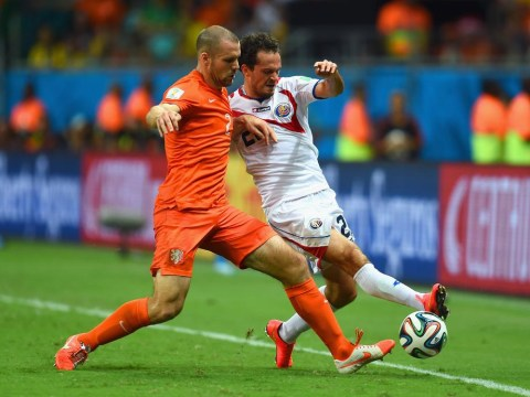 Ron Vlaar on the verge of history in Brazil – but will he still be an Aston Villa player come August?