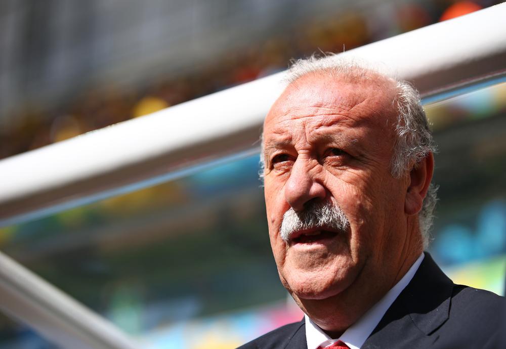 Staying put! Vicente Del Bosque will remain Spain coach despite shambolic World Cup