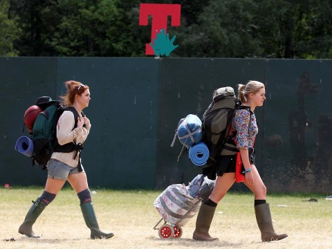 Sunshine greets T In The Park 2014 festival-goers for a final farewell to Balado