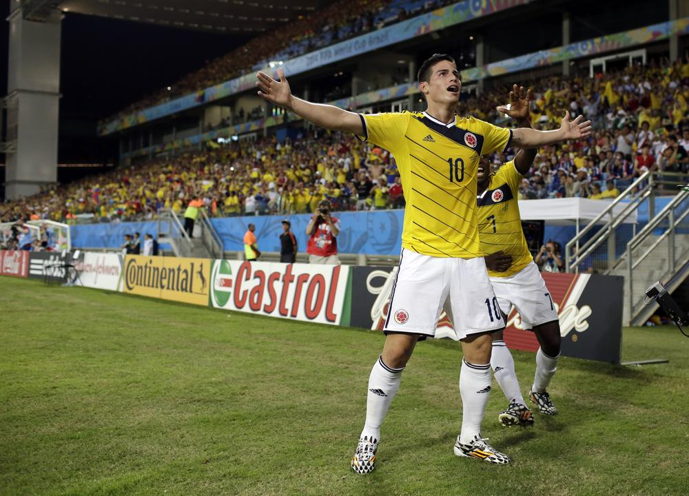 Lionel Messi, Neymar and James Rodriguez make the team of the World Cup (so far)