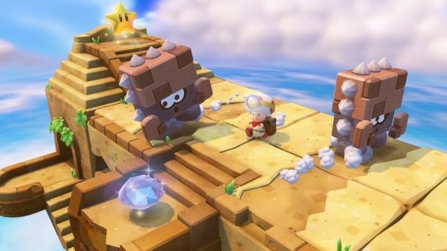 Captain Toad: Treasure Tracker - a mostly new idea