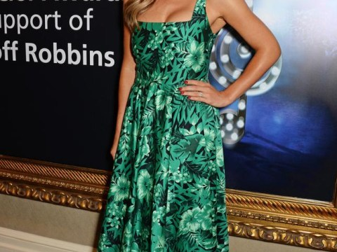 Katherine Jenkins shows off engagement ring as she talks about her upcoming wedding