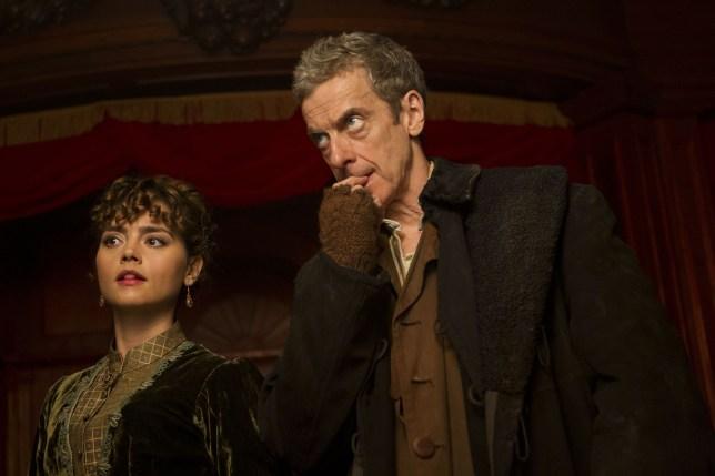 Doctor Who, Peter Capaldi, Jenna Coleman