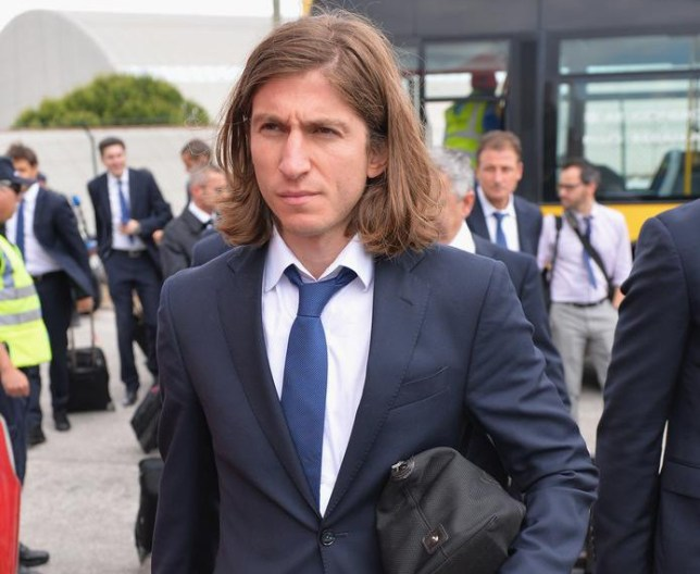 LISBON, PORTUGAL - MAY 23: Filipe Luis of Athletico Madrid arrives at Lisbon airport prior to the UEFA Champions League Final between Real Madrid and Athletico Madrid at Estadio da Luz on May 23, 2014 in Lisbon, Portugal Stuart Franklin/Getty Images