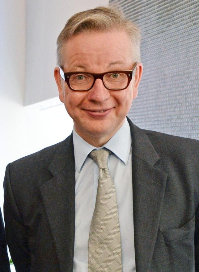 Gove gone; Michael Gove is out of the Cabinet
