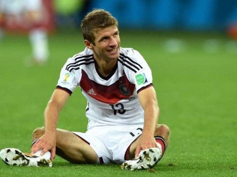 Thomas Muller 'fall' in German free-kick 'fail' was all a big ruse, reveals Benedikt Howedes