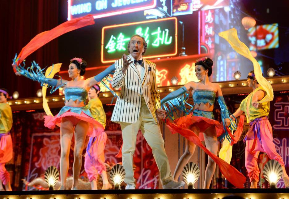 Monty Python bring out the Silly Walks and Spam once again as live tour kicks off