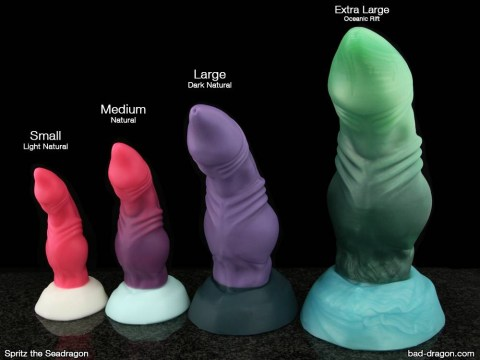 These dildos are shaped to look like dragon penises, and we're pretty terrified