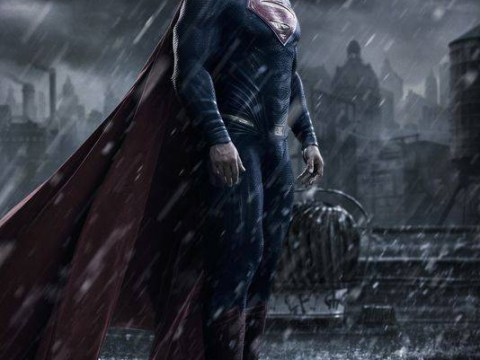Henry Cavill looks super mean in this brooding new look at Batman v Superman: Dawn of Justice