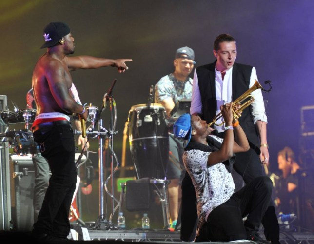 4 Jul 2014 - BIRMINGHAM - UK  RUDIMENTAL PERFORMING WITH SPECIAL GUEST SURPRISE GUEST JOHN NEWMAN AT THE WIRELESS FESTIVAL IN PERRY PARK IN BIRMINGHAM  BYLINE MUST READ : XPOSUREPHOTOS.COM  ***UK CLIENTS - PICTURES CONTAINING CHILDREN PLEASE PIXELATE FACE PRIOR TO PUBLICATION ***  **UK CLIENTS MUST CALL PRIOR TO TV OR ONLINE USAGE PLEASE TELEPHONE   44 208 344 2007 **
