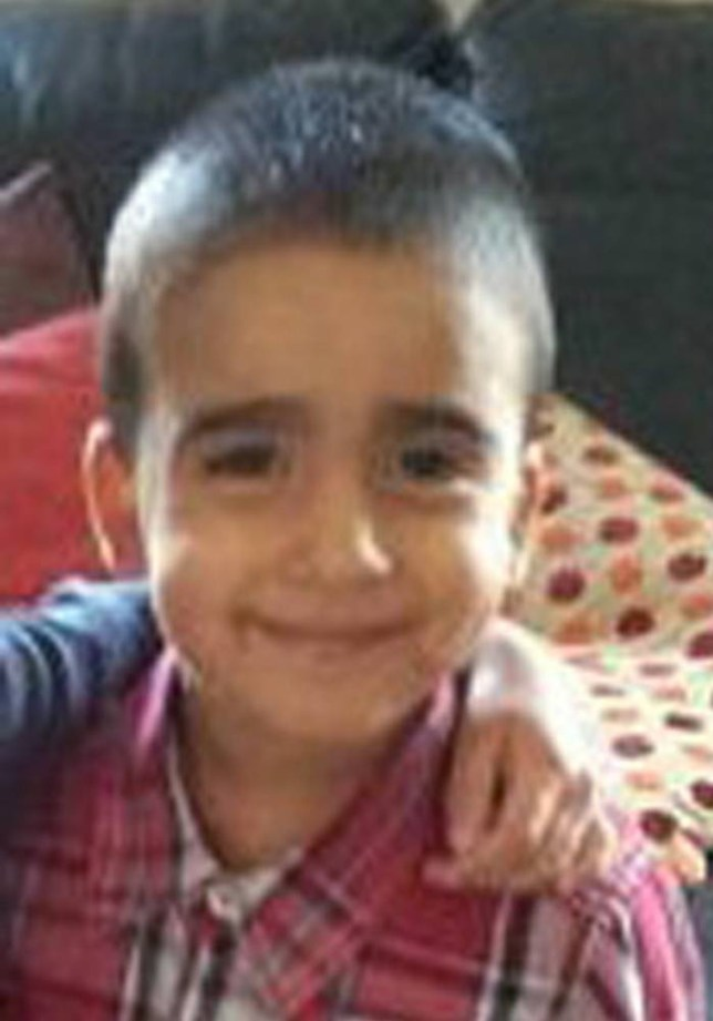 Undated family handout photo issued Thursday Jan. 16, 2014, by Police Scotland, of missing three-year-old boy  Mikaeel Kular.  The boy was last seen going to bed at around 21:00 hrs Wednesday night Jan. 15, at his home address in Ferry Gait, Edinburgh.  Despite a massive search by police, rescue services and hundreds of local residents  Mikaeel Kular remains missing Friday Jan 17. (AP Photo / Police Scotland)