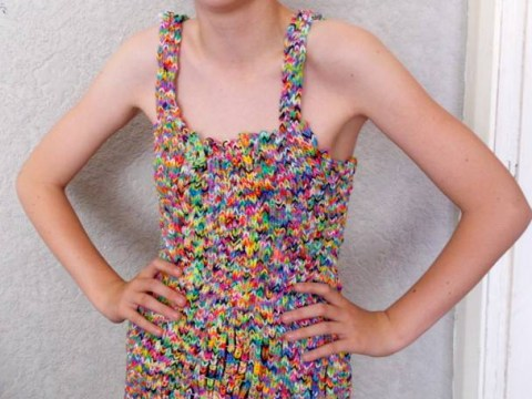 Winning bidder refuses to pay £170,100 for loom band dress on eBay